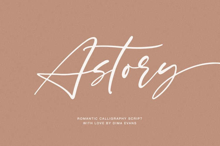 Astory // Romantic Script