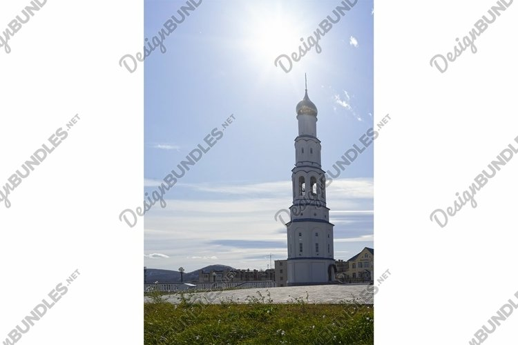 Bell tower in the Church of St. Nicholas the Wonderworker example image 1