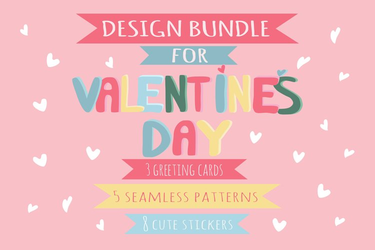 design bundle for valentine's day example image 1