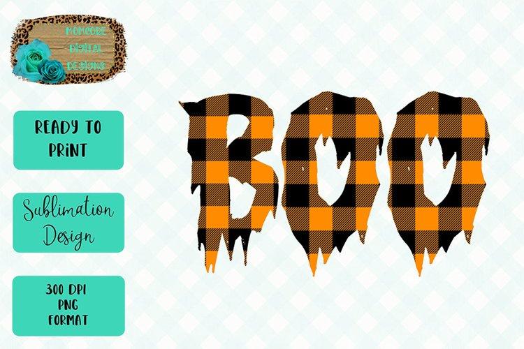 Boo Sublimation Design