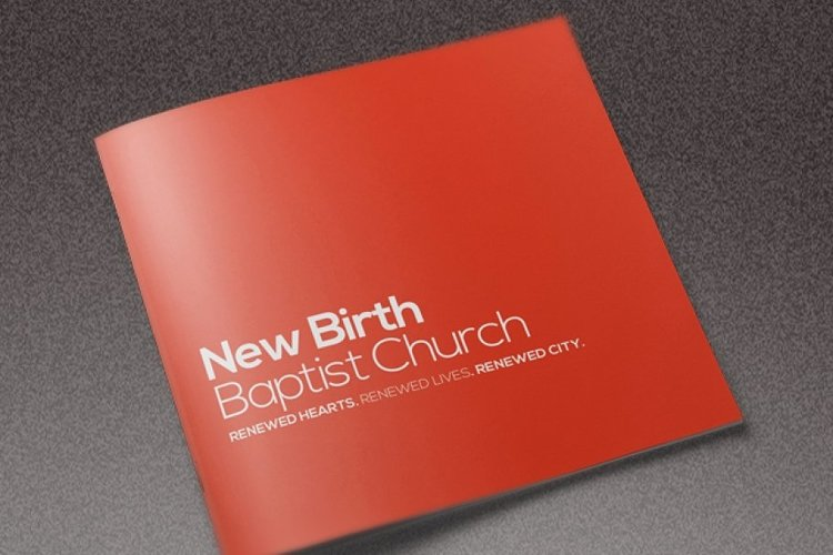 Core Church Brochure Template example image 1