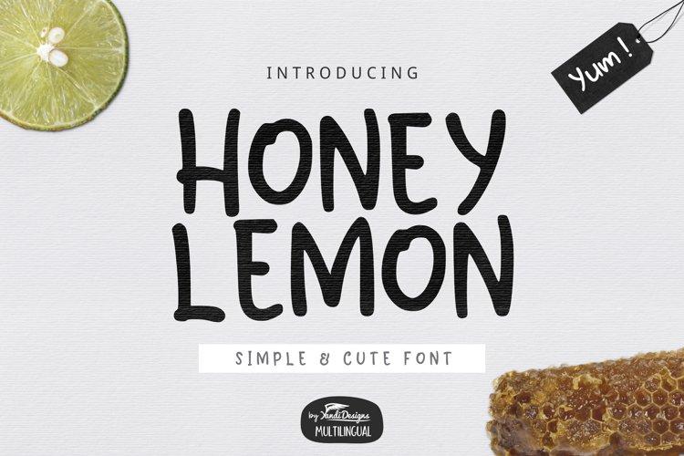 Honey Lemon example image 1