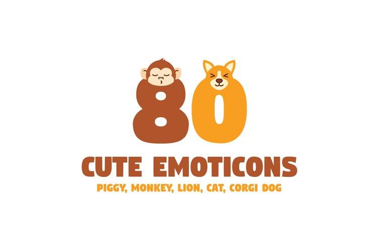 Cute Animal Emoticons