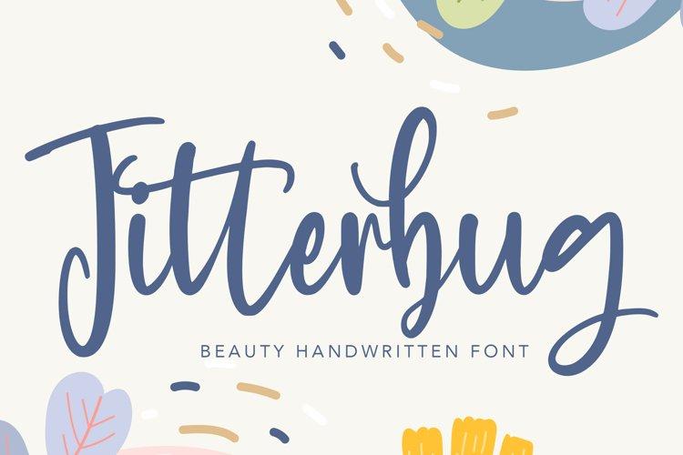 Jitterbug - Beauty Handwritten Font example image 1