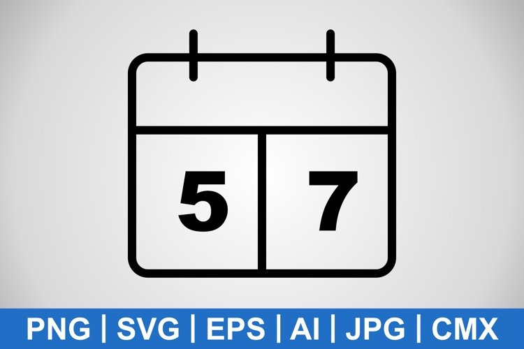 Vector Scoreboard Icon example image 1