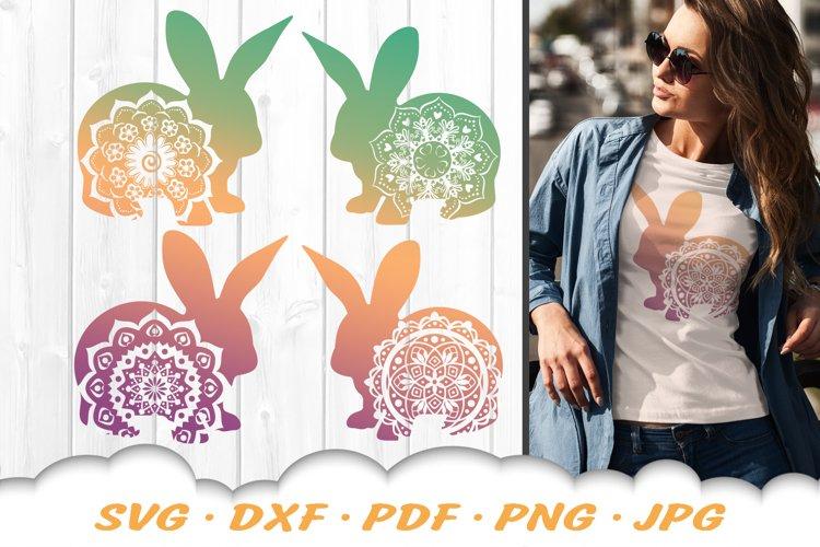 Mandala Easter Bunny Svg Bundle Dxf Cut Files 519749 Svgs Design Bundles