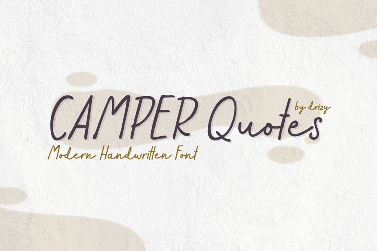 Camper Quotes example image 1