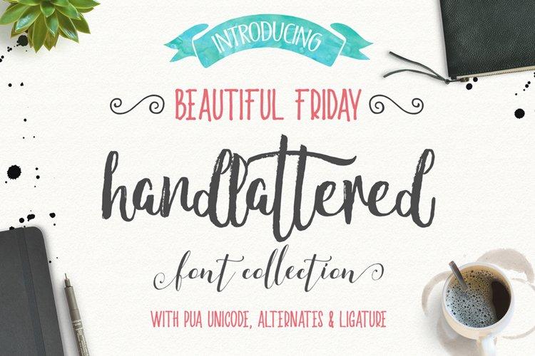 Beautiful friday (13 Fonts)