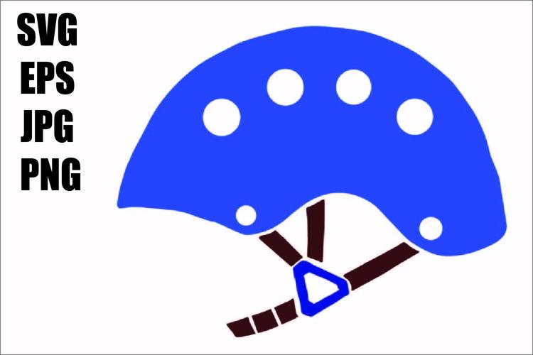 Bike Helmet - SVG/EPS/JPG/PNG Hand Drawing example image 1