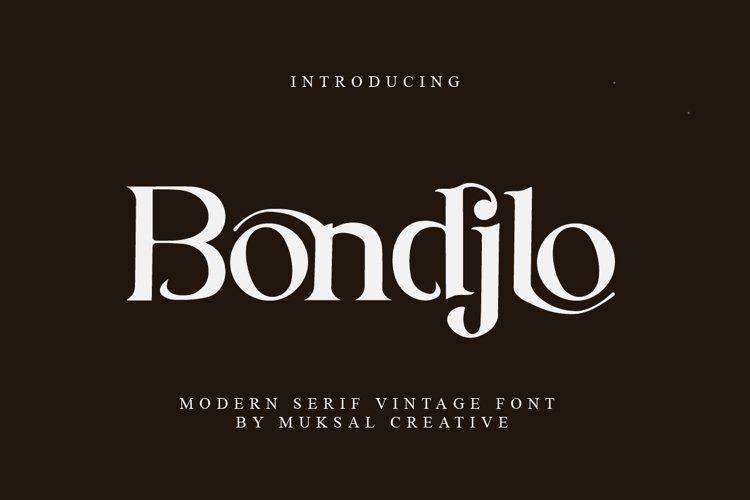 Bondjlo example image 1