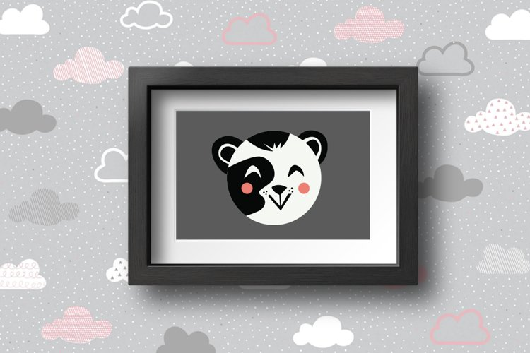 Cute Animals Characters Bundle example 10