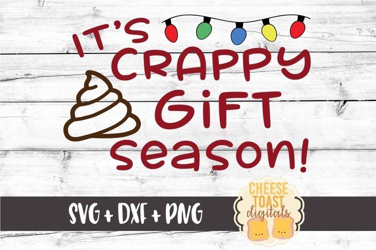 It's Crappy Gift Season Christmas Toilet Paper Design example image 1