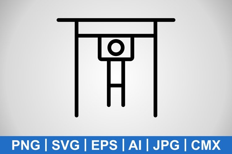 Vector Hand Bar Icon example image 1