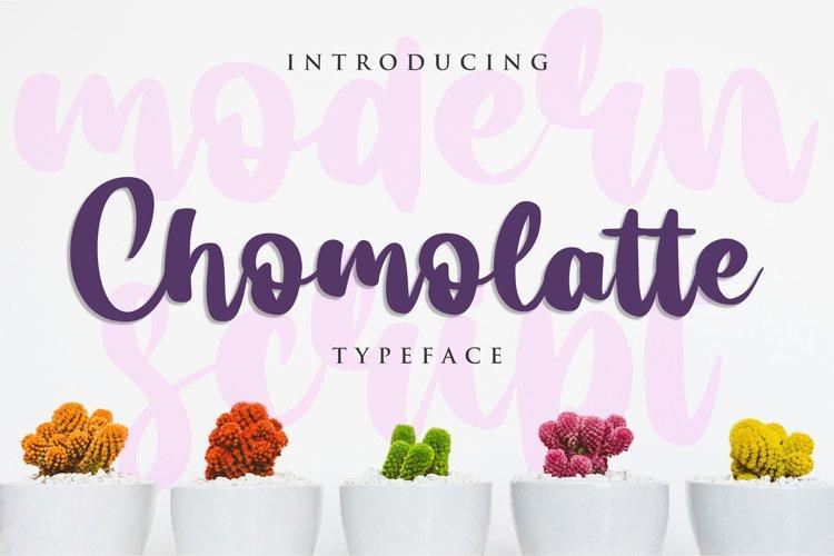 Chomolatte example image 1