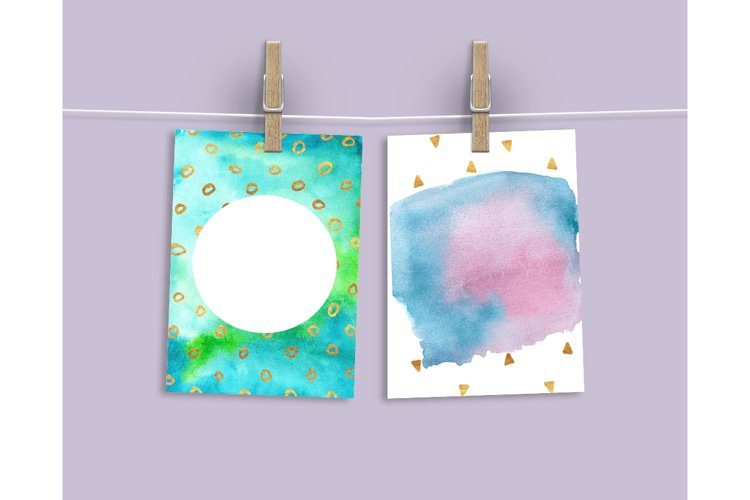 Watercolor Textures - card edition - Free Design of The Week Design8
