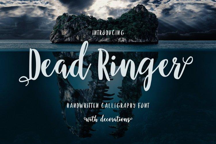 Web Font Dead Ringer example image 1