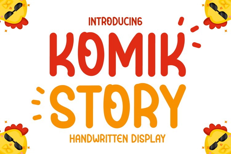 Komik story - Cute Handwritten Display example image 1