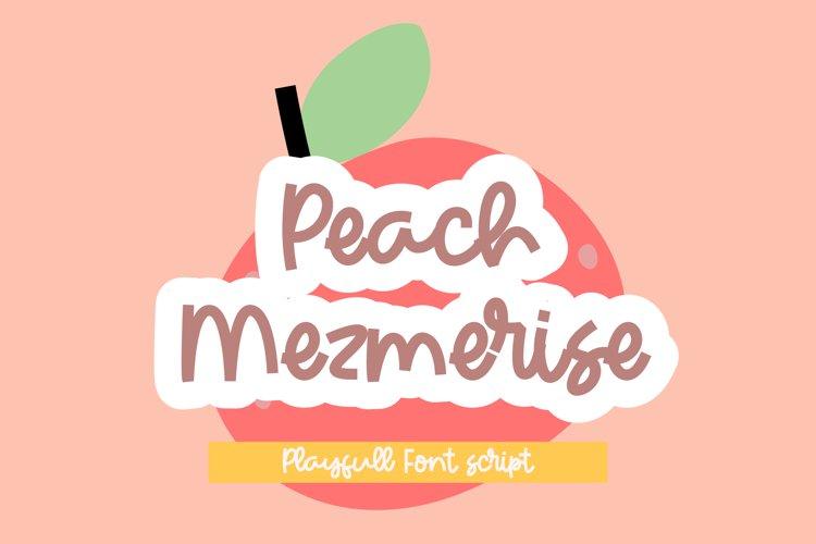 Peach Mezmerise example image 1