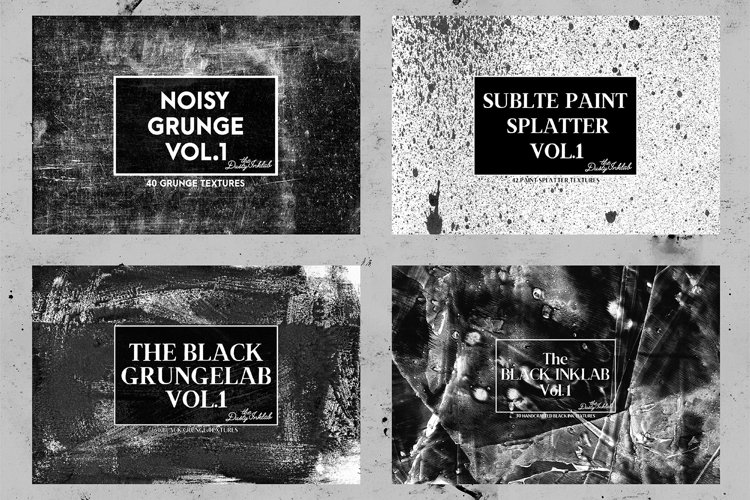 The Dusty Inklab Grunge Sample Pack example 2