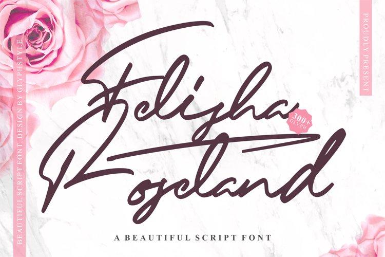 Felisha Roseland Script Font