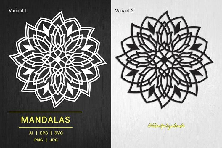 Mandalas Tulip Illustration example image 1
