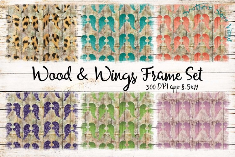 Wood and Wings Frame Set example image 1