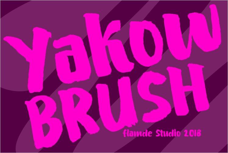Yakow BRUSH example image 1