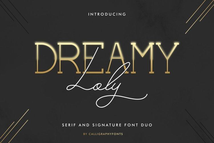 Dreamy Loly Font example image 1