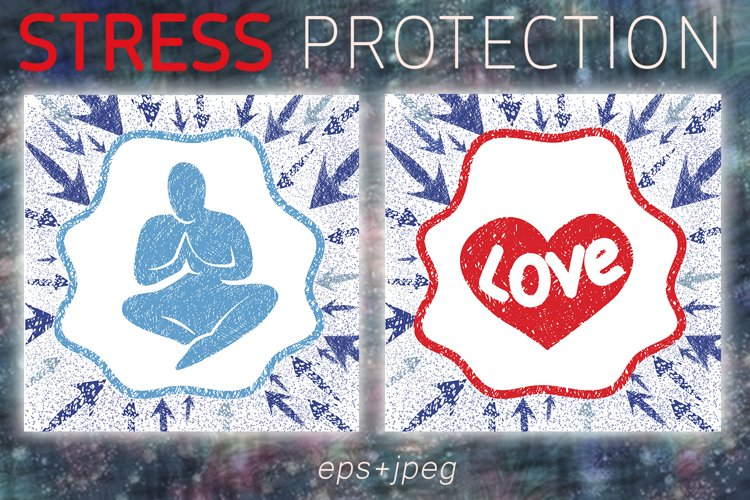 Stress protection illustrations