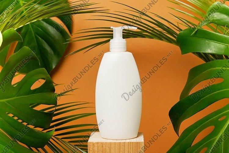 Gel, Foam, Liquid Soap, shampoo or any cosmetics with palm
