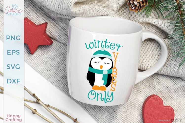Winter Vibes Only - A Winter Sign Craft File
