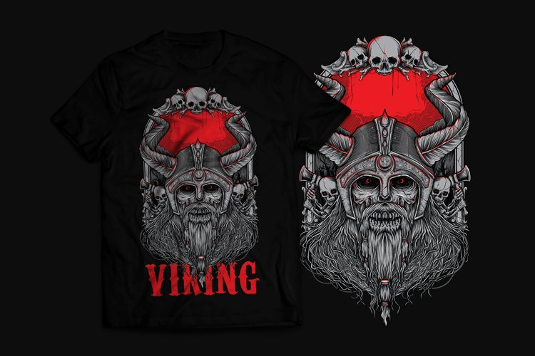 Viking T-Shirt Design example image 1