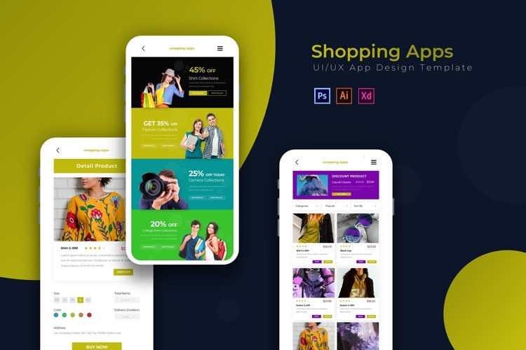 Shopping | App Template example image 1