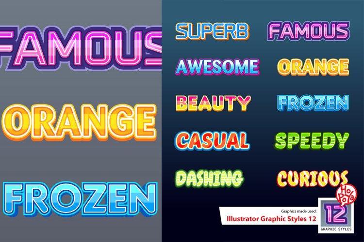 Illustrator Graphic Styles 12