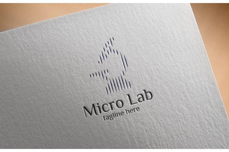 Microscope Logo example image 1