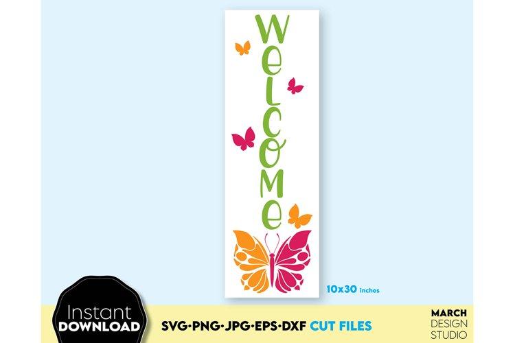 Summer SVG Porch Sign SVG Welcome Sign SVG, Hello Summer