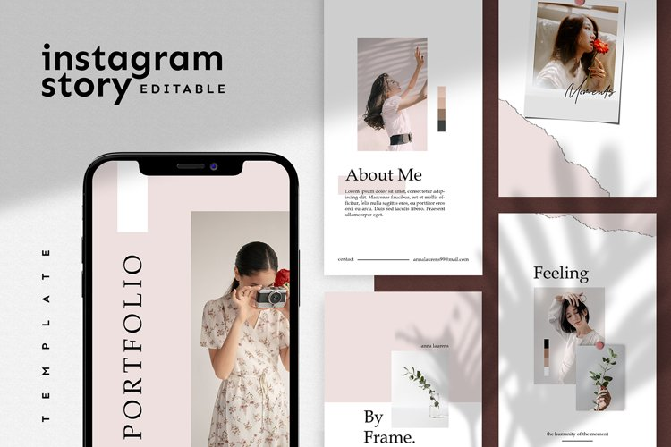 Instagram Story Template example image 1