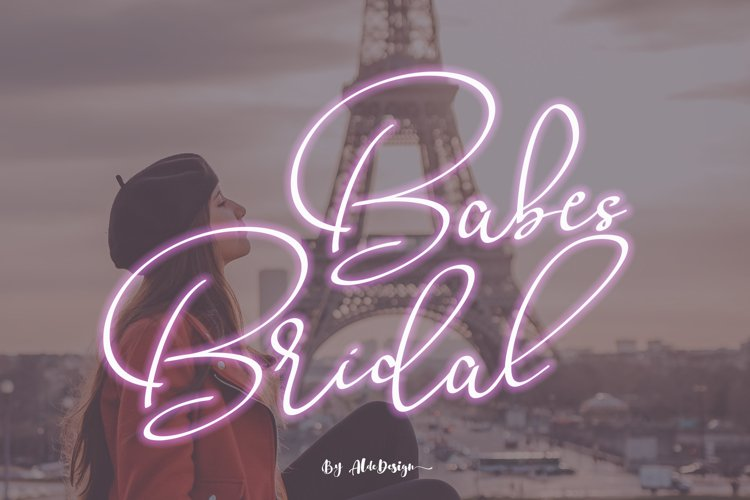Babes & Bridal example image 1