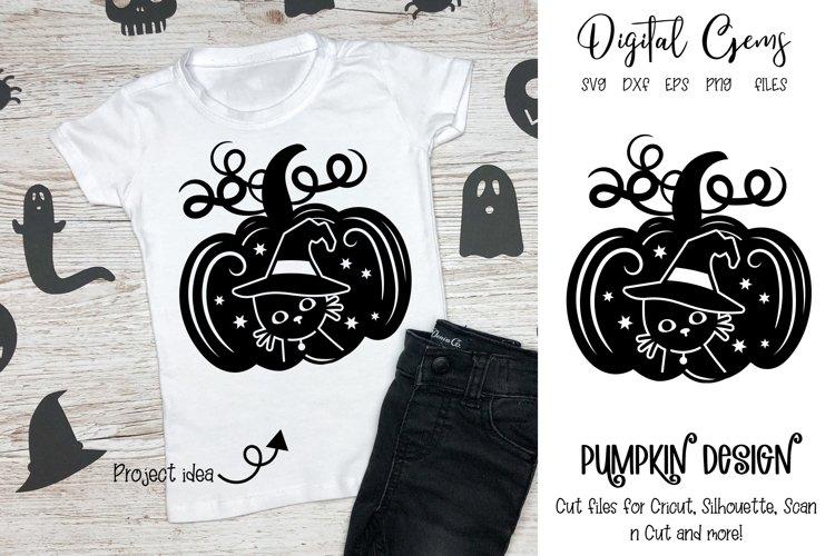 Pumpkin design, Halloween SVG / PNG / EPS / DXF files