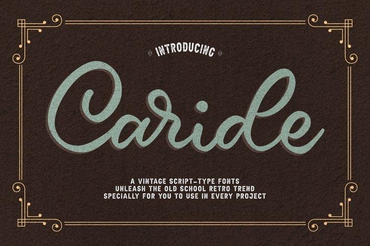 Caride Script example image 1