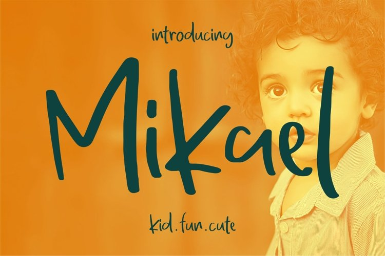 Mikael - Fancy Font example image 1