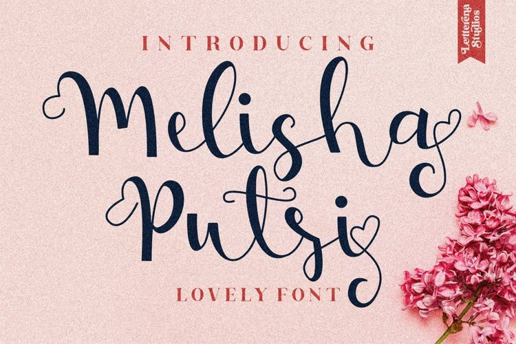 Melisha Putri - Beautiful Lovely Script Font example image 1