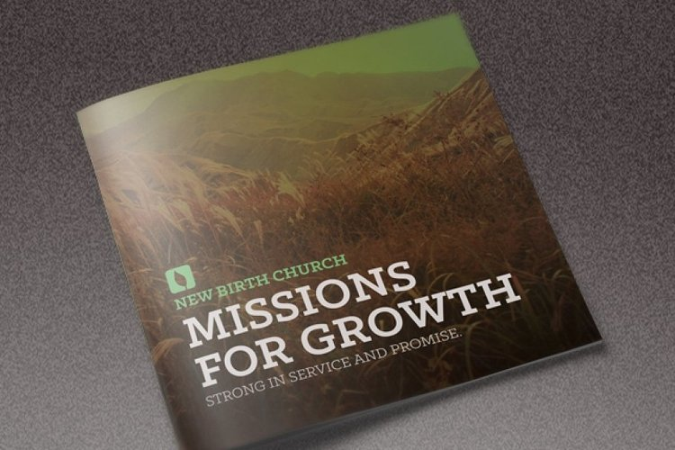Missions for Growth Church Brochure example image 1