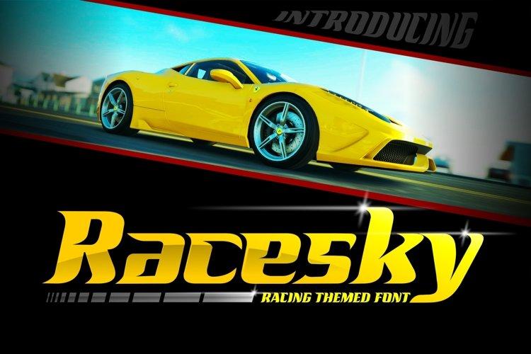 Racesky example image 1