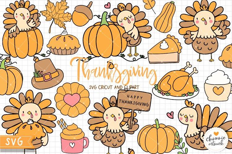 Thanksgiving SVG, Turkey SVG, Thanksgiving Clipart, Autumn