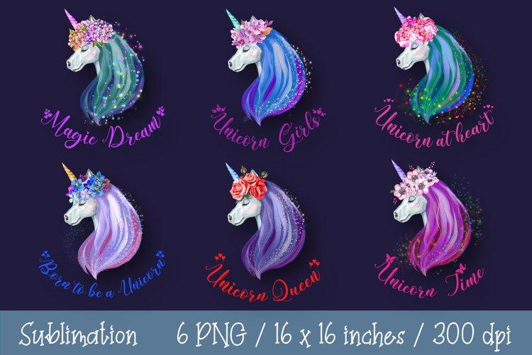 Unicorn Sublimation Unicorn Clipart Unicorn Quotes Flower