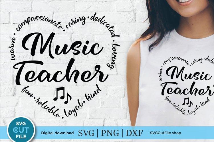 Music Teacher svg - a school music teacher svg for crafters