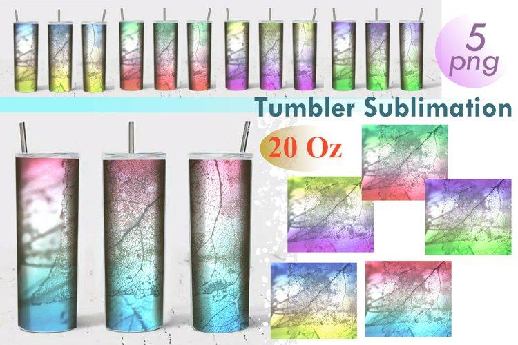 Tumbler Sublimation Multicolored Spider Web 20 Oz