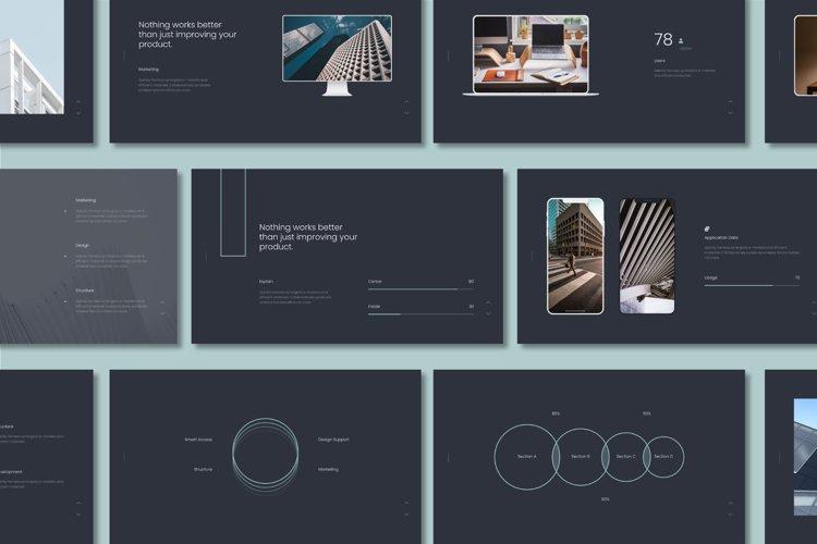 Onil Minimal & Simple Presentation Keynote