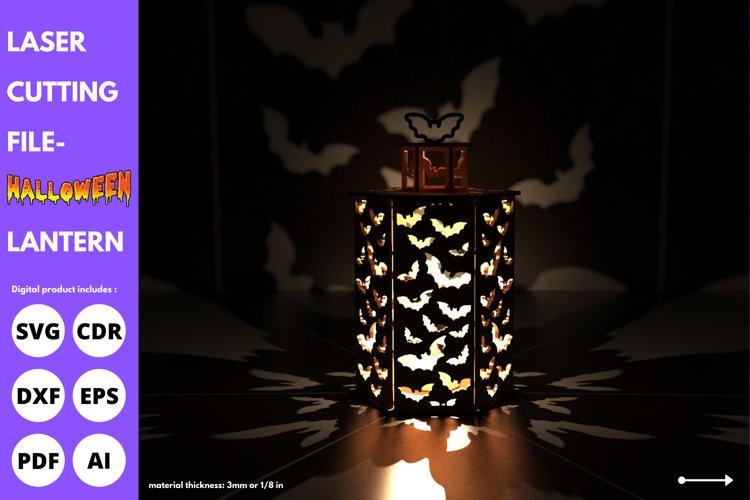 Halloween Lantern - SVG - laser cutting file